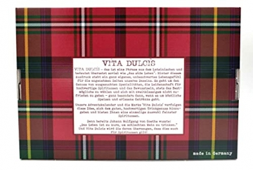 Whisky Adventskalender Klassik Edition 2021 - Vita Dulcis - 24x0,02l - 2