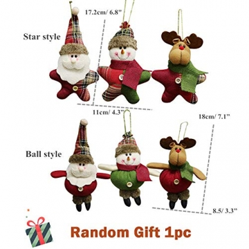 24 Stück Weihnachtskugeln Baumkugeln, Morbuy Weihnachtsdekorationen Baumschmuck für Weinachtsbaum Tannenbaum, Weihnachten, Hochzeit, Jubiläum, Party, Feier usw (24pc,Weiß) - 7