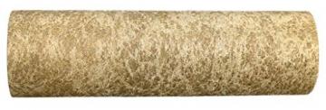 AmaCasa Vlies Tischläufer 30cm/25 Meter Tischband Hochzeit Kommunion (30cm, Gold) - 4