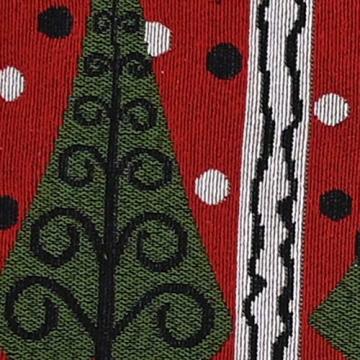 Blanketswarm Tischläufer, Weihnachts-Tischwäsche, Weihnachtsmann, Elch, Tischdecke, Tischdecke für Familienessen, Party, Zuhause, Urlaub, Dekoration, 35 x 180 cm - 6