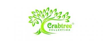 Crabtree Collection Deluxe-Weihnachtstischwäsche aus Baumwolle, leuchtende Farben für Küche und Esszimmer – (rote Vintage-Blumen-Servietten) - 7