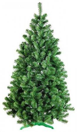 DecoKing Weihnachtsbaum Künstlich 220 cm grün Tannenbaum Christbaum Tanne Lena Weihnachtsdeko - 1