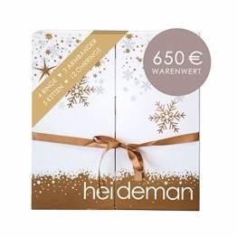 Heideman Adventskalender 2021 Frauen - Schmuck - Limited Edition - Advent Kalendar - Weihnachtskalender Silber - 1