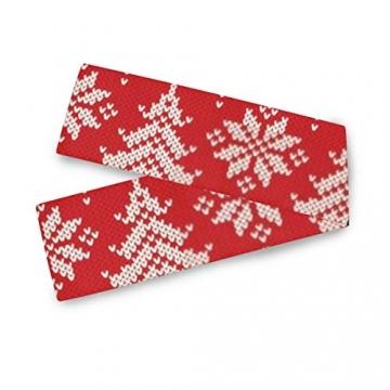 WENP Tischläufer für die Küche zu Hause Esstisch Dekor Küchenläufer Winterurlaub Nahtloses Strickmuster Weihnachtstischwäsche für Party- / Alltagsgebrauch (13x70in) - 4